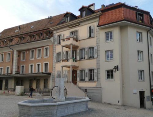 Place  du Marché – 1530 Payerne – 4,5 pièces 4ème étage