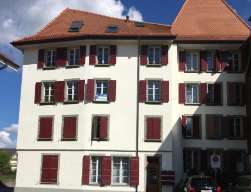 Rue à Thomas 1– 1530 Payerne – 2,5 pièces 1er étage