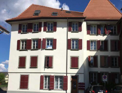 Rue à Thomas 1– 1530 Payerne – 2 pièces rez de chaussée